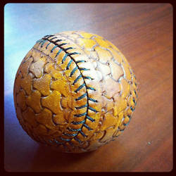 Leather Base Ball by MerrillsLeather