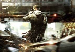 WATCH DOGS character design research by SeedSeven
