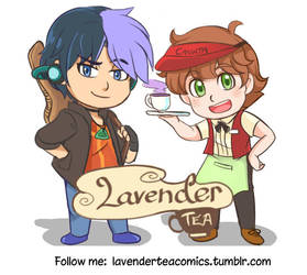 Come to Lavender Tea Comics by Joichiroll