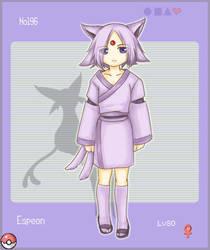 PKMN 196 - Espeon by Joichiroll