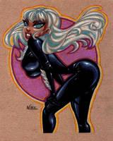Black Cat Commission 2 by NLark