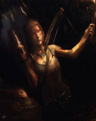 Tomb Raider survivor by Alantyn