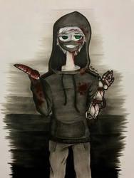 Creepy au again... by ZevGrim