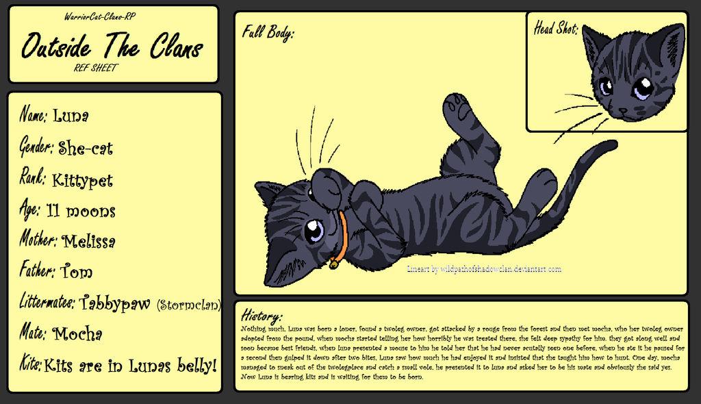 Warriorcat Clans Rp – Desenhos Para Colorir