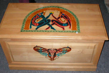 Celtic Art Hope Chest by groomporter