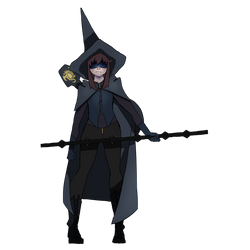 Apprentice Witch Maguire by NightSkyYT