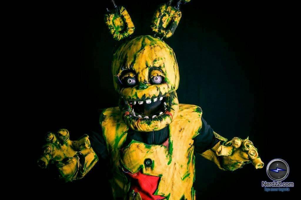 springtrap cosplay by brnnightmare
