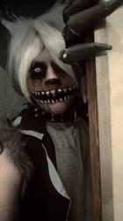 Twisted Wolf Cosplay by brnnightmare