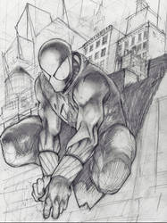 The Scarlet Spider by neilchenier