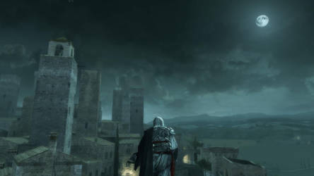 Assassins Creed II - Full Moon by TheDarkFox778