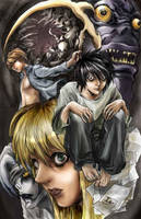 DeathNote color attempt by babalisme