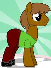 Shaggy ponyfied by Brelia9794