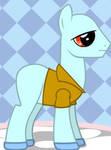 Squidward Ponyfied by Brelia9794