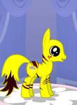 Pikachu Ponyfied by Brelia9794
