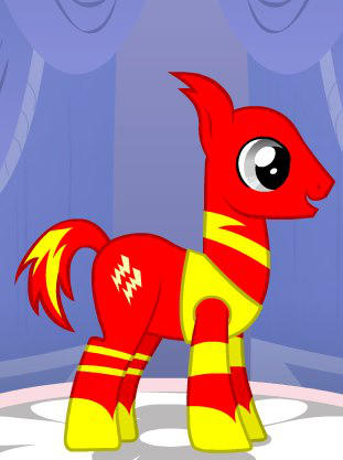 Flash Ponyfied by Brelia9794