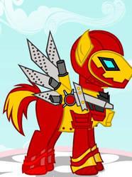 Iron Man Ponyfied by Brelia9794