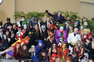 Gathering of The Bat 2013 Ohayocon by TheDarkKnight-Batman