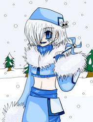 Melancholy in Snow by Shippo-no-neko