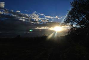 Winter Sunset by jjsms