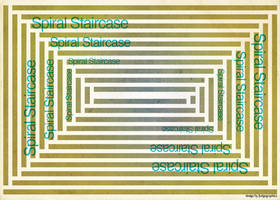 Spiral Staircase by fudgegraphics