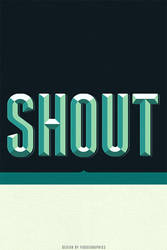 Shout iPhone Wallpaper by fudgegraphics