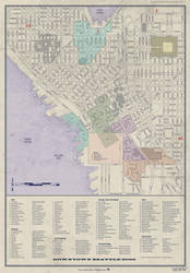 Shadowrun Seattle Downtown Zones and Districts by MNNoxMortem