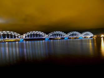 Bridge of Riga by MindaugasR