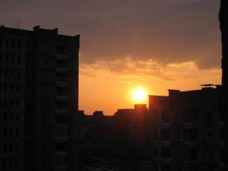 Sundown of yesterday by MindaugasR