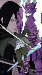 Sasuke uchiha by luckyal77