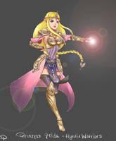 Hyrule Warriors - Princess Zelda by Hichiyan