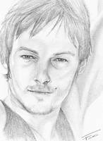 Norman Reedus by 407blackblossom