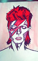 David Bowie by rocket-baby-dolls