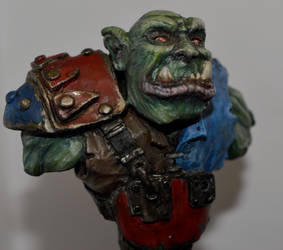 Ork closeup by troll1980