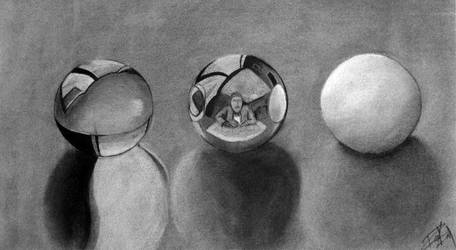 Escher master study by spoofnix
