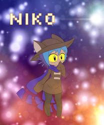 OneShot - Niko~ by Zer0-Stormcr0w