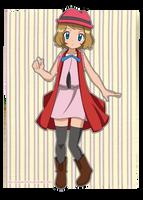 New Design - Serena - Pokemon X y Y by PumpkinTrick