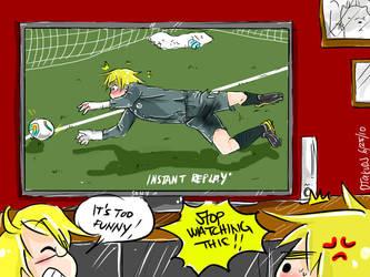 Arthur's World Cup Fail by OtakuDJ