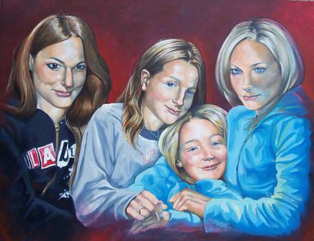Four sisters by RMBDarkmyth