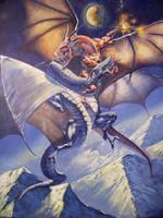 dragon quarrel by RMBDarkmyth