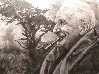 John Ronald Reuel Tolkien by RMBDarkmyth