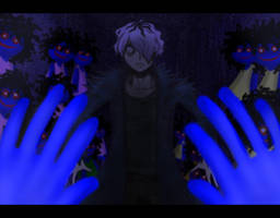 Garry in the Doll Room [Screen Shot] by Negative-Nega-chan