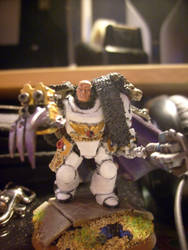 Primarch Horus Luprecal by aapie014