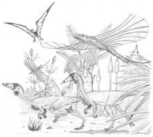 The Triassic by PaleoAeolos