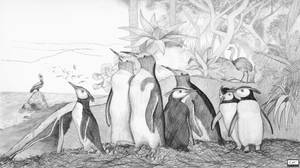 The Antarctic Forest by PaleoAeolos