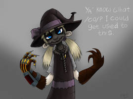 Helga ' Scarecrow' in colour by R-i-Perils