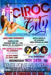 Ciroc the city Flyer by mochadevil83