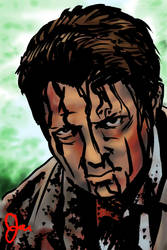 Castiel Possessed by radioactiveroach