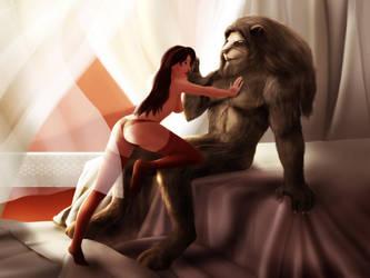 beauty and the beast by raulovsky
