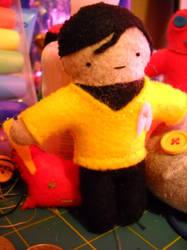 Sulu in Felt by ThePaperCutFairy
