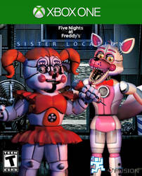Five Nights At Freddy's SL X ONE Cover (Fanmade) by BonnieGamer568